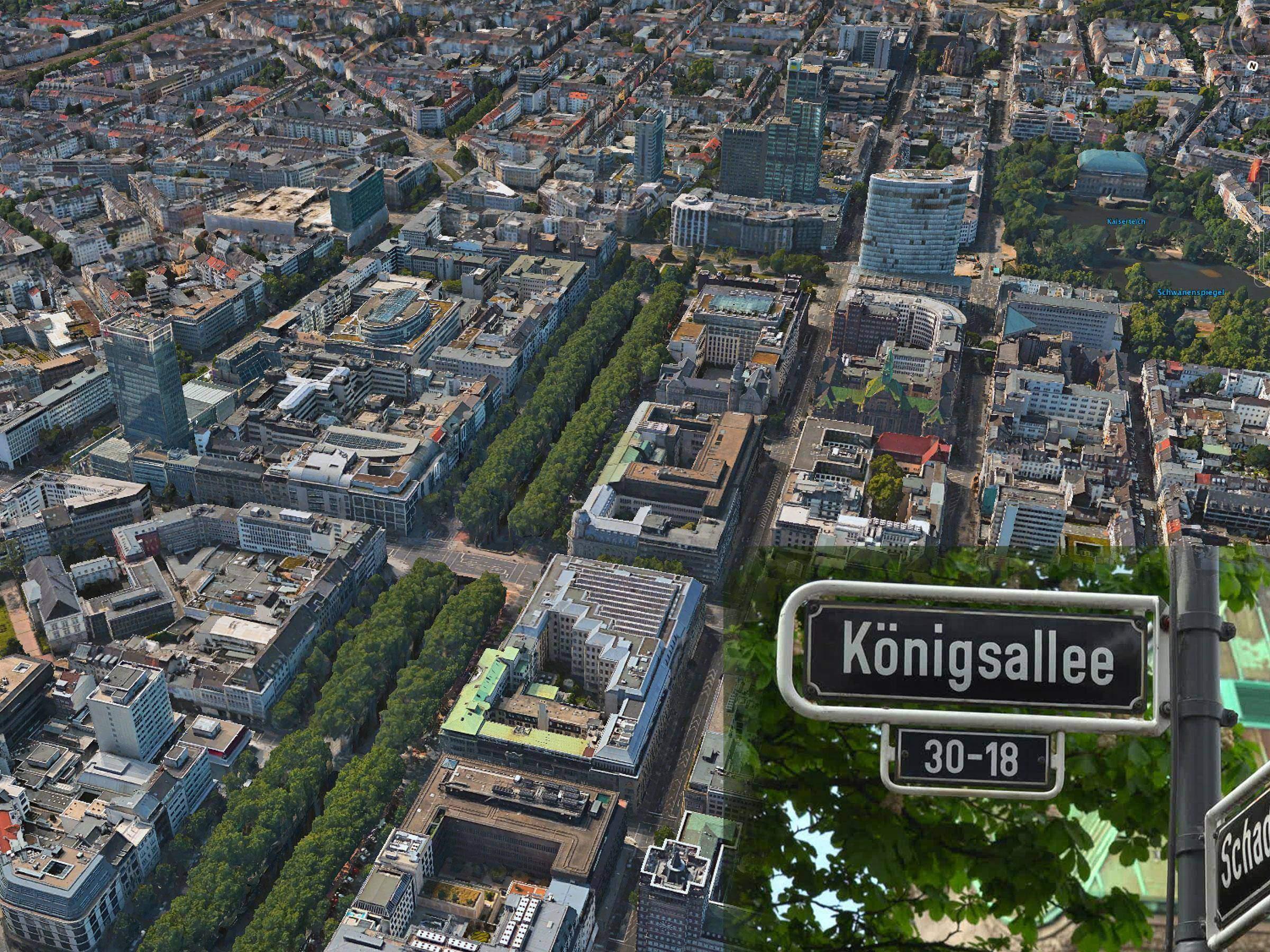 markenting ufficio siamo a Königsallee nella città di Düsseldorf nel cuore pulsante delleconomia Tedesca